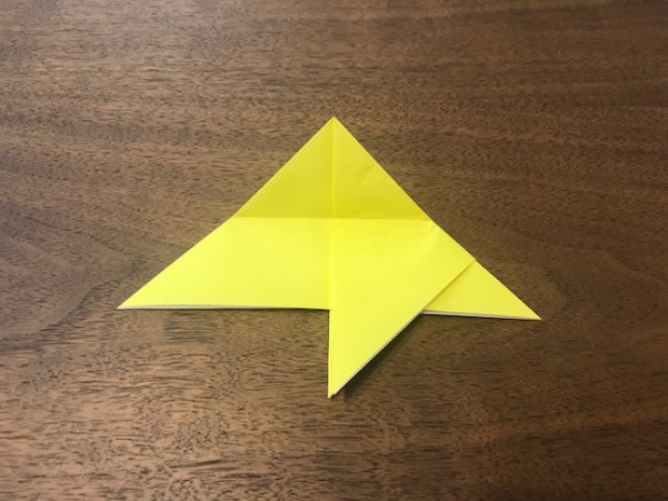 折り紙で星の折り方11