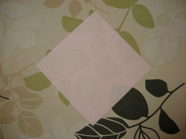 ハートの折り方1