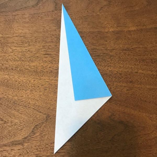 折り紙ペンギン立体の作り方・手順5