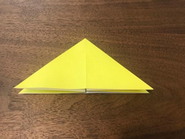 折り紙で星の折り方4