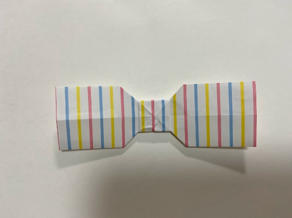 折り紙でリボンの折り方・手順10