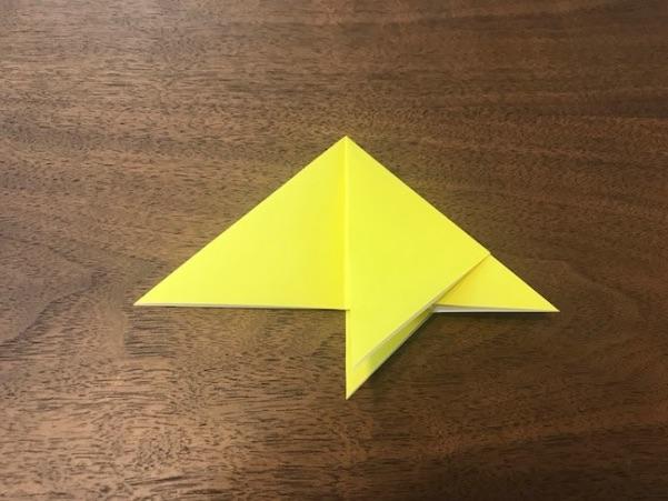 折り紙で星の折り方9