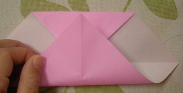 ハートの折り方6