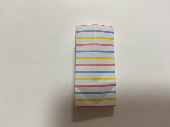折り紙でリボンの折り方・手順4
