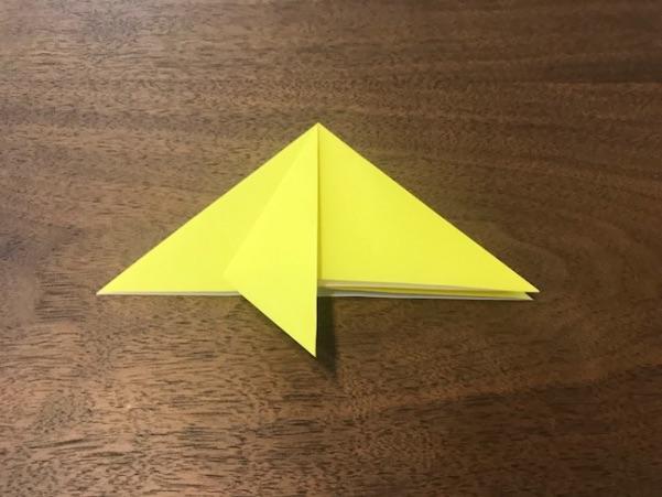 折り紙で星の折り方5