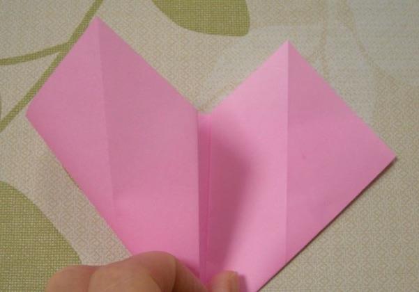 ハートの折り方10