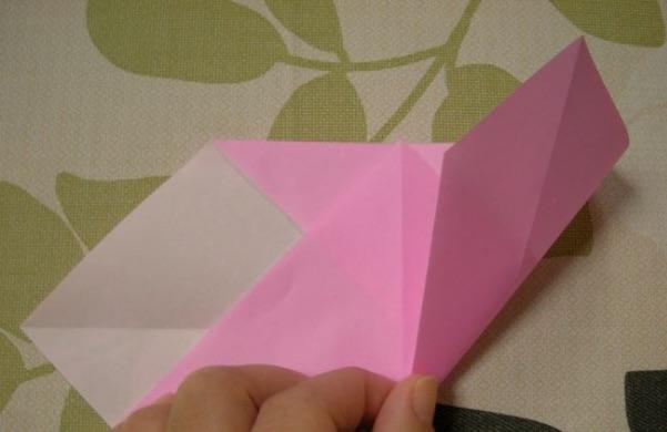 ハートの折り方8