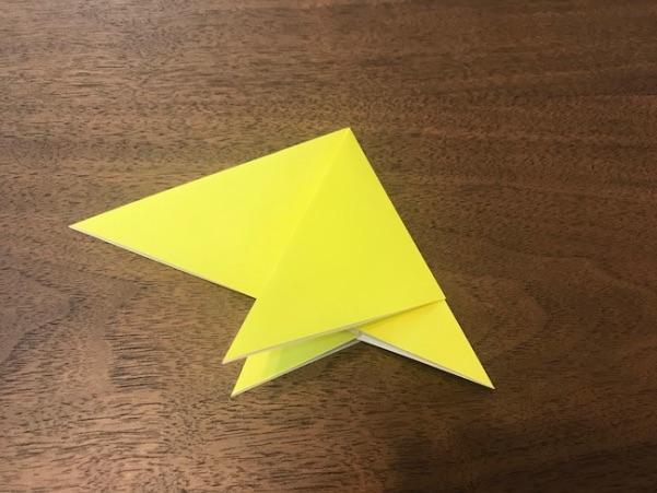 折り紙で星の折り方8