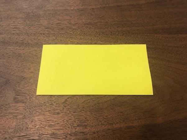 折り紙で星の折り方1