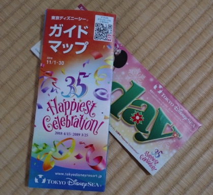 東京ディズニーリゾートのMAPとToday