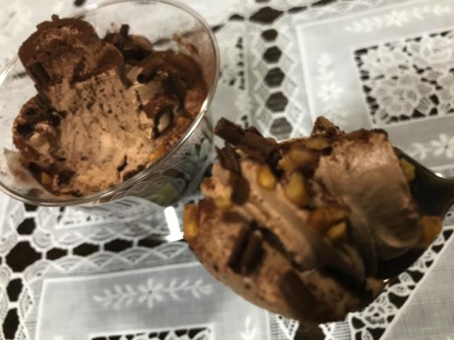 ローソントップスチョコレートパフェ実食