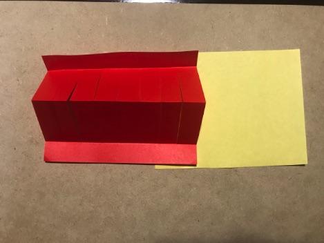 七夕の折り紙ちょうちんアレンジ3