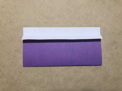 七夕の折り紙ちょうちんの作り方2