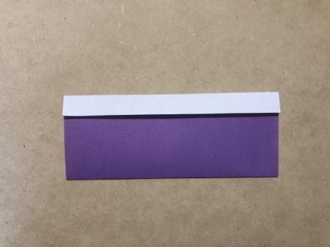 七夕の折り紙ちょうちんの作り方3