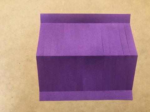 七夕の折り紙ちょうちんの作り方5