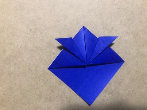 兜の折り方7