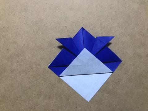 兜の折り方8