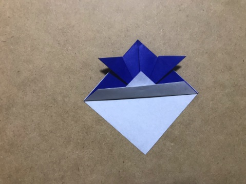 兜の折り方9