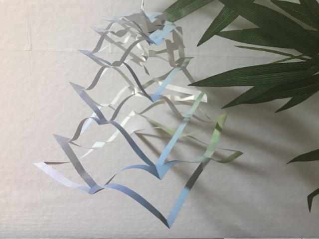 七夕の折り紙の網