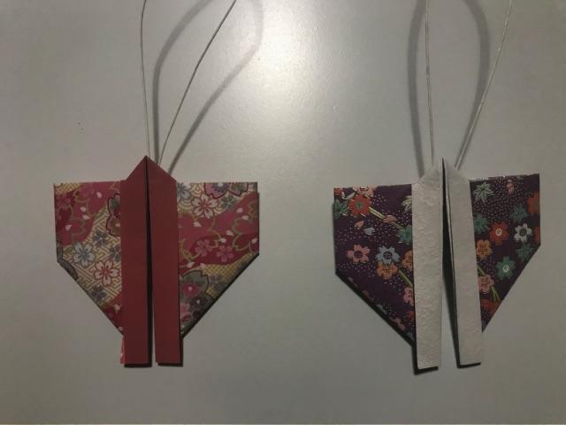 仙台七夕飾り 折り紙の着物