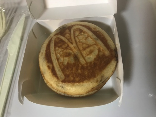 マックハワイアンパンケーキのグリドル